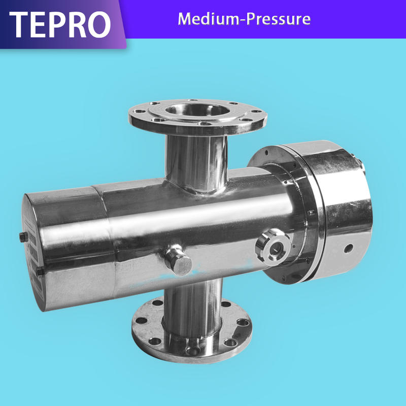 Medium-Pressure Water Disinfection Systems