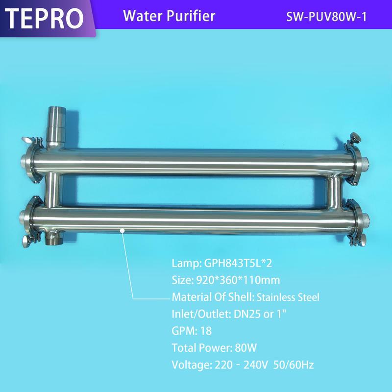 Good UVC Lamp Ultraviolet Filter SU-PUV80W-1