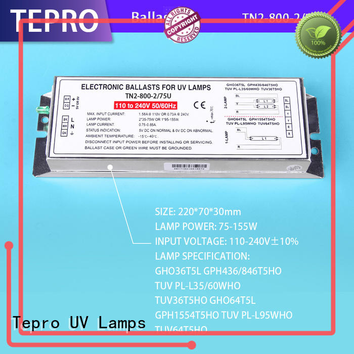 Tepro fluorescent ballast system for plants