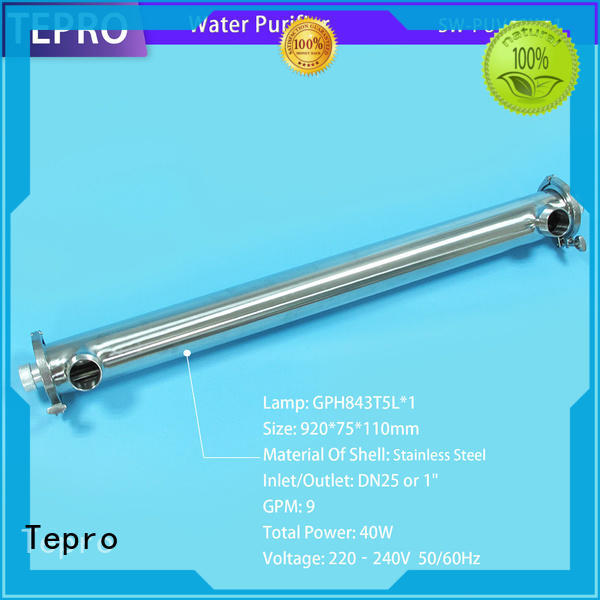 Tepro uv light water treatment supplier for fish tank