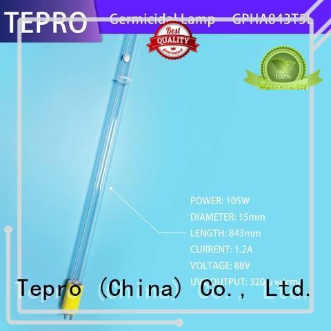 Tepro 17mm uv disinfection lamp supplier for aquarium