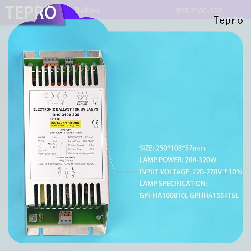 Tepro uv lamp ballast factory for laboratory