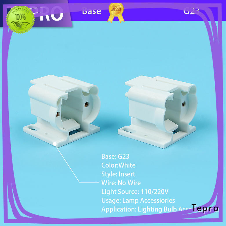 Tepro conventional light socket customized for nails