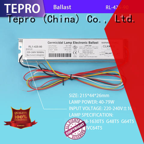 quality uv lamp electronic ballast brand for laboratory