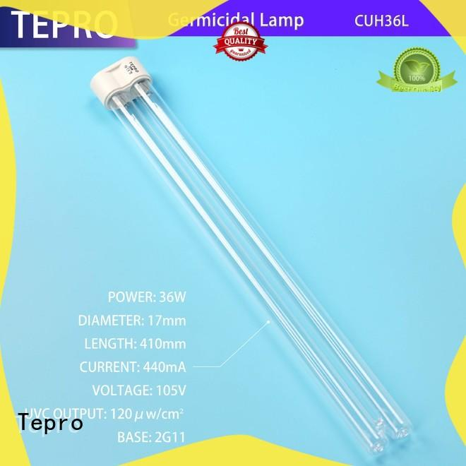 submersible uvc bulb 810mm customized for hospital