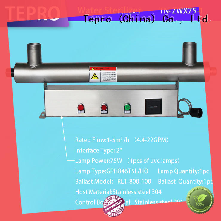 Tepro ultraviolet light for water supplier for reptiles