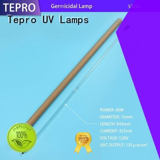 Tepro water purifier uv sterilizer bulb design for pools