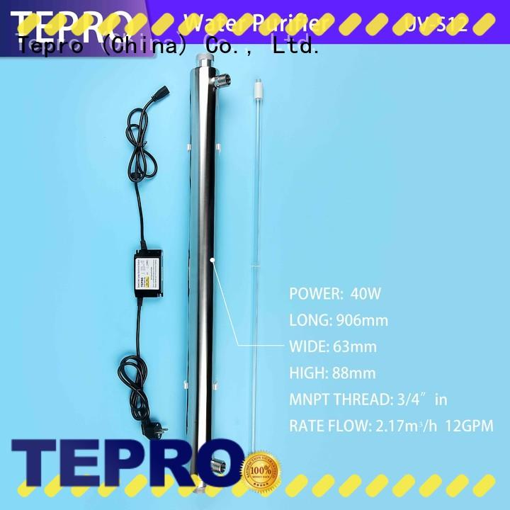 Tepro bactericidal uv light lamp customized for pools