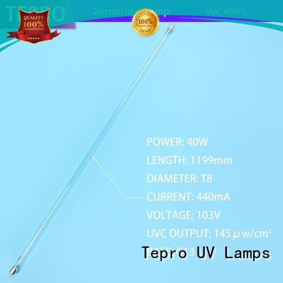 Tepro submersible uv c light bulb disinfection for hospital