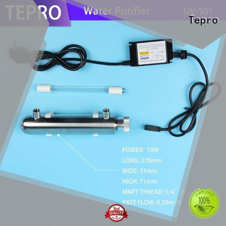 Tepro quality uv water treatment factory for aquarium