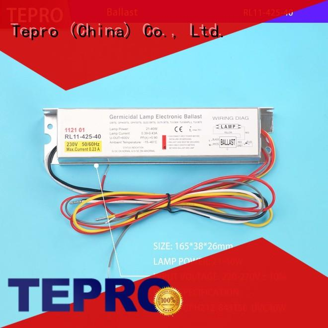 Tepro bactericidal uv light sterilizer customized for pools