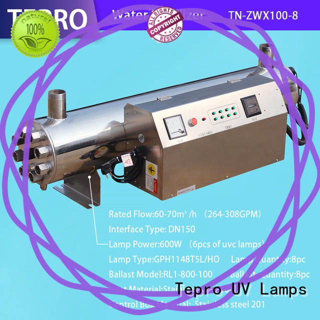 Tepro ultraviolet light for water manufacturer
