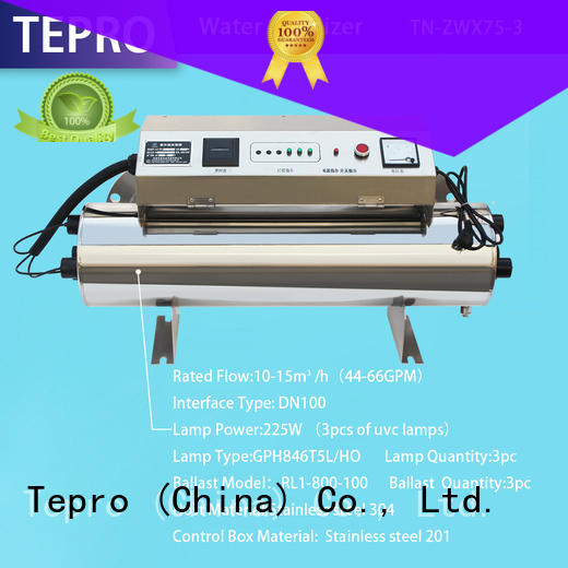 Tepro ultraviolet light for water supplier for pools