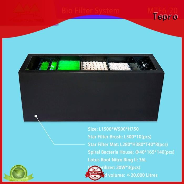 Tepro aquarium filter brand for well water