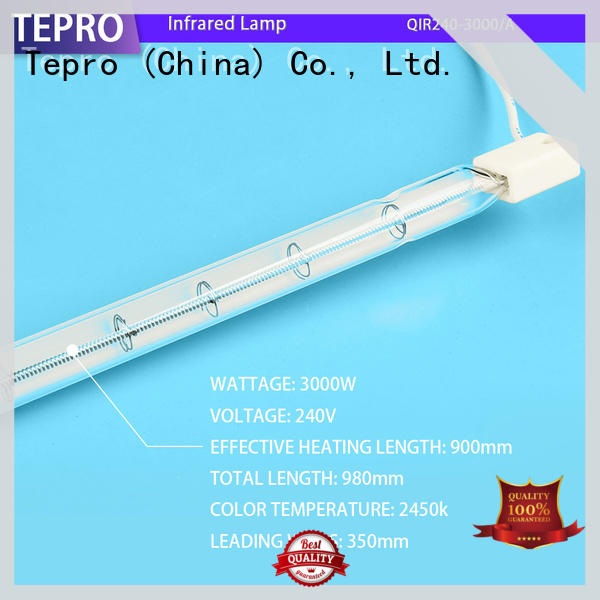 Tepro bactericidal infrared light design