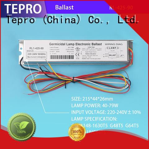 Tepro fluorescent light ballast brand for factory