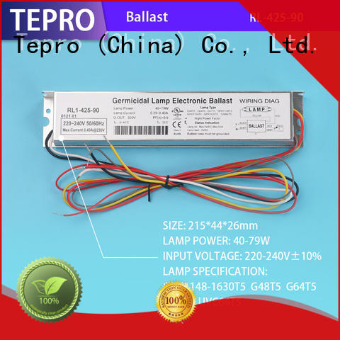 Tepro fluorescent light ballast brand for factory