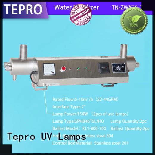 standard ultraviolet light water treatment manufacturer for reptiles