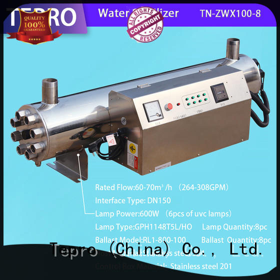 Tepro conventional ultraviolet light water purifier factory for pools