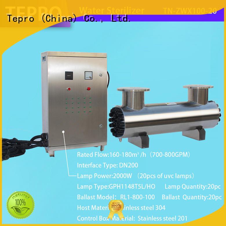 Tepro bactericidal uv black light 40w for hospital