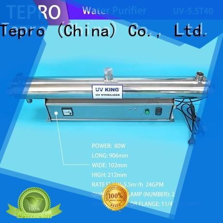 Tepro submersible uv sterilizer aquarium supplier for pools