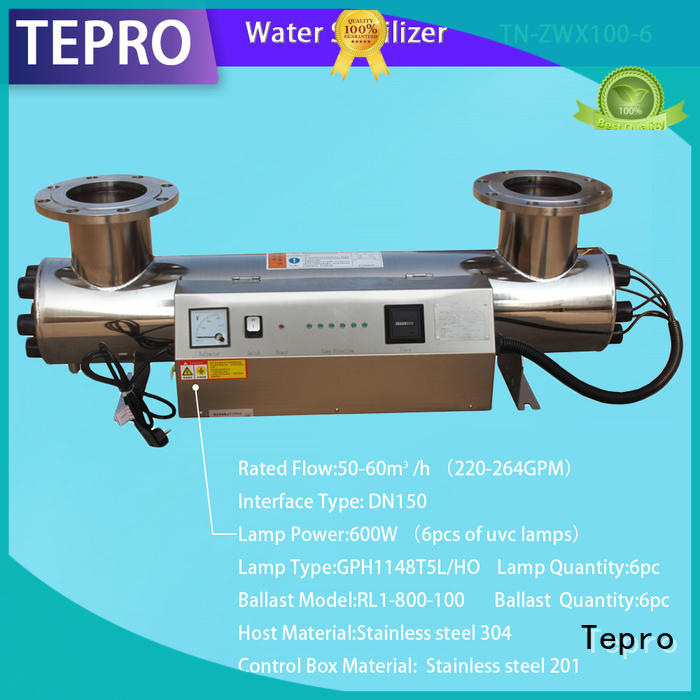 professional uv water filtration system factory for hospital