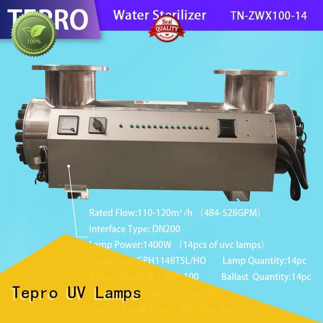 Tepro submersible uv sterilizer bulb supplier for hospital