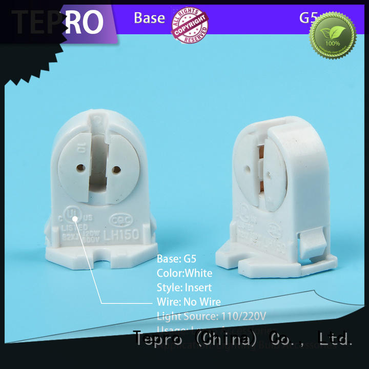 Tepro lamp socket replacement design for pools