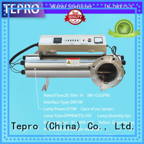 Tepro ultraviolet filter types for reptiles