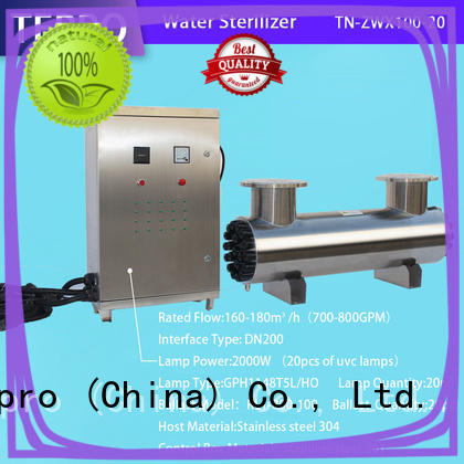 Tepro standard ultraviolet light water treatment manufacturer for pools