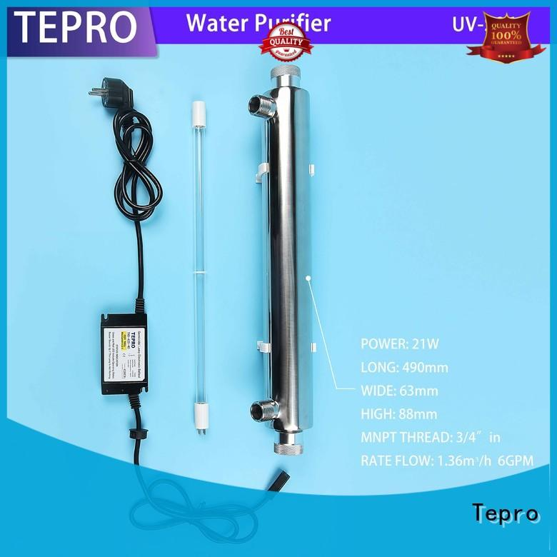 Tepro uv water purifier supply for pools