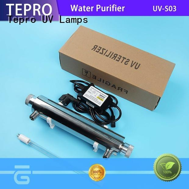 Tepro standard uv air purifier supplier for pools