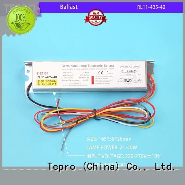 Tepro 8gpm uv light water purifier customized for aquarium