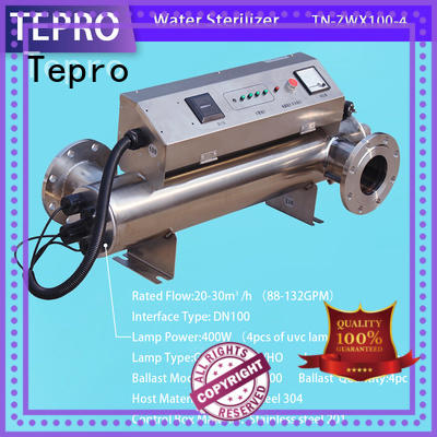 Tepro bactericidal uv light disinfection customized for fish tank