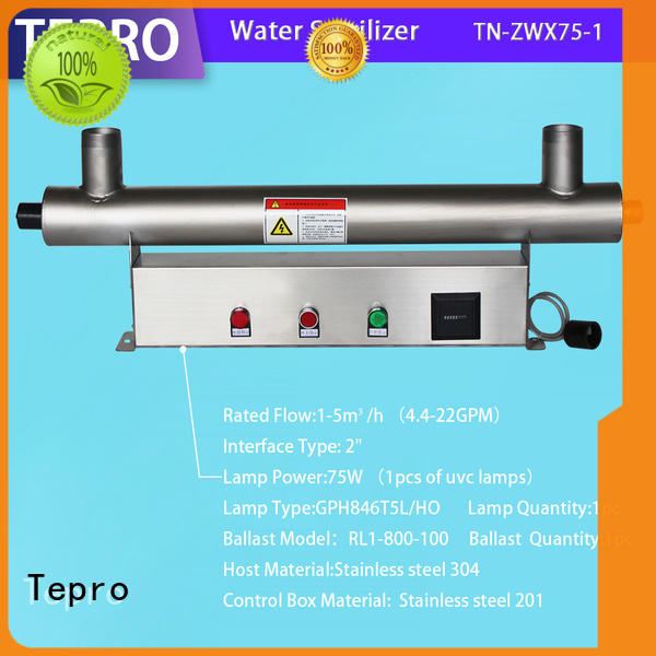 Tepro h shape bactericidal lamps supplier for pools