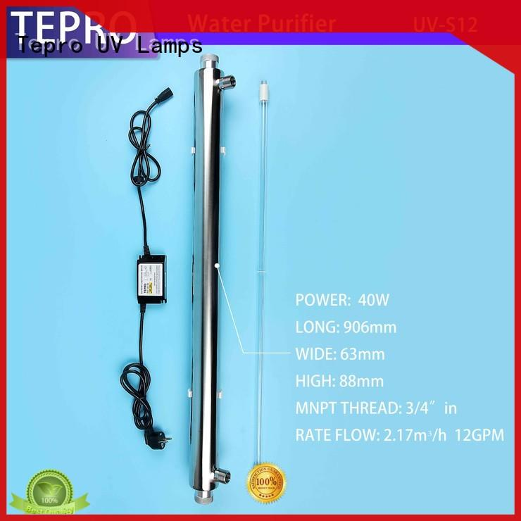 Tepro uv light water treatment manufacturer for hospital