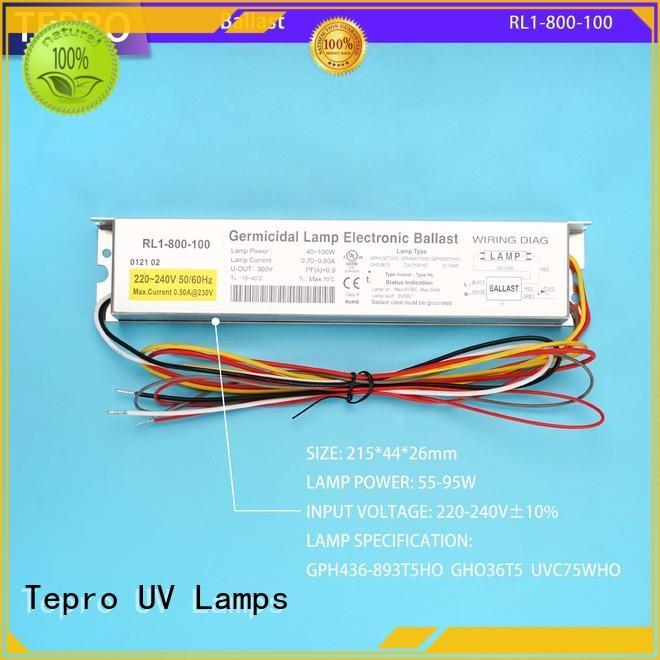 Tepro standard uv antibacterial light manufacturer for pools