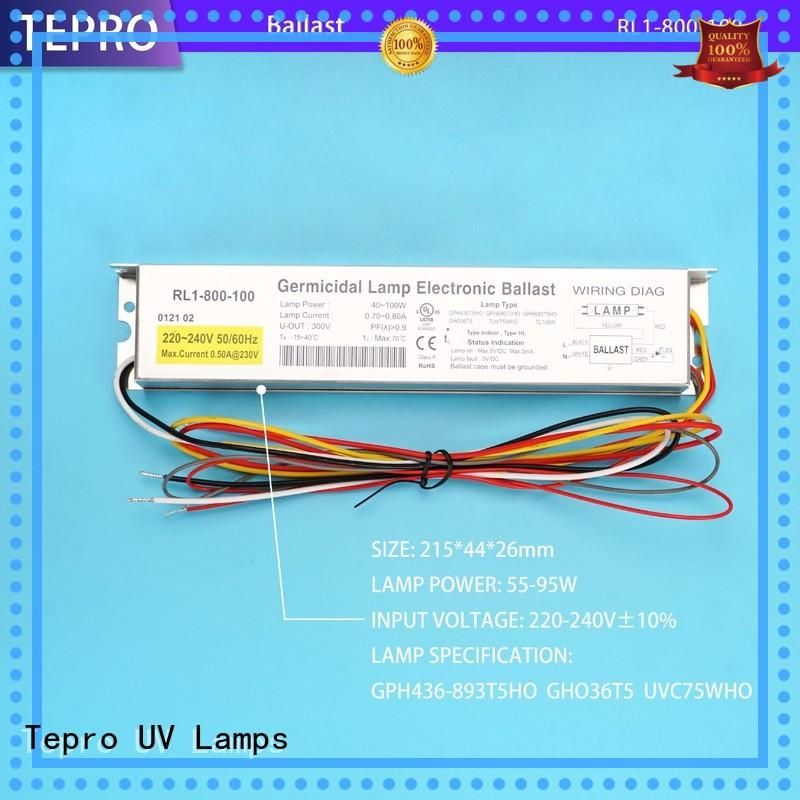 standard uvc ballast function for factory