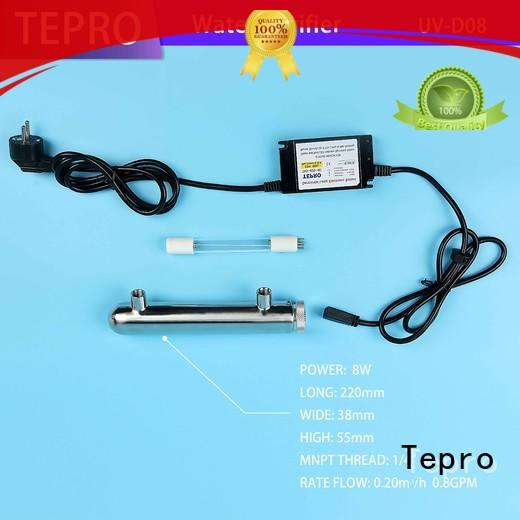 Tepro standard uv water purification supplier for pools