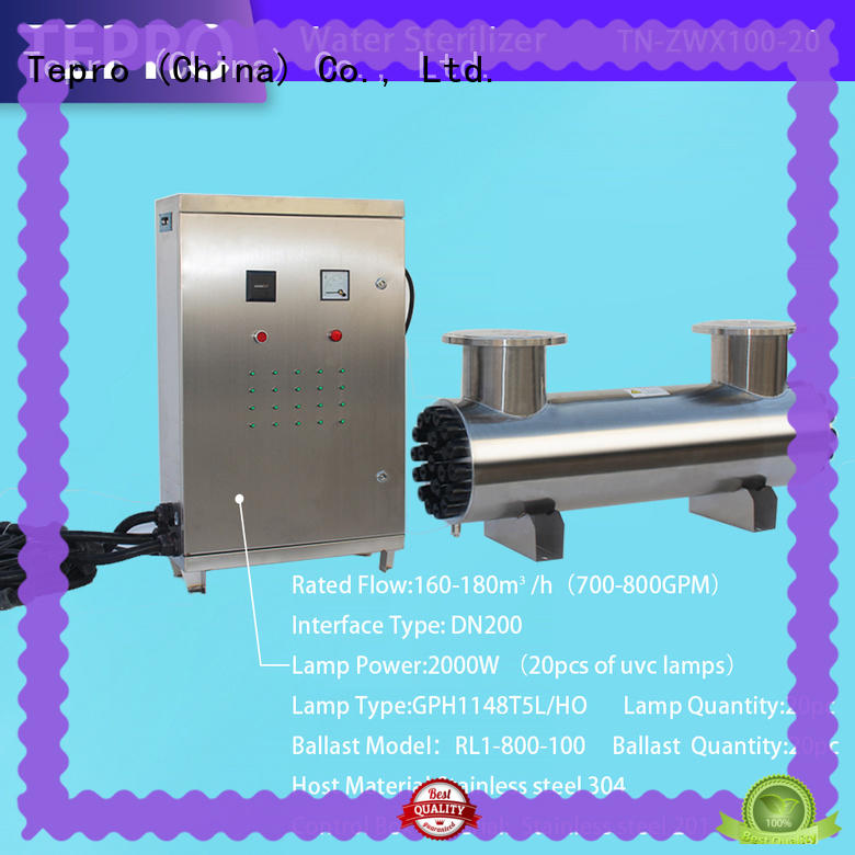 Tepro bactericidal uv light disinfection manufacturer for fish tank