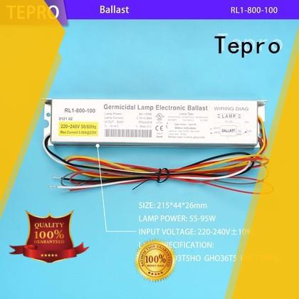 Tepro 4 pins uv disinfection lamp customized for pools