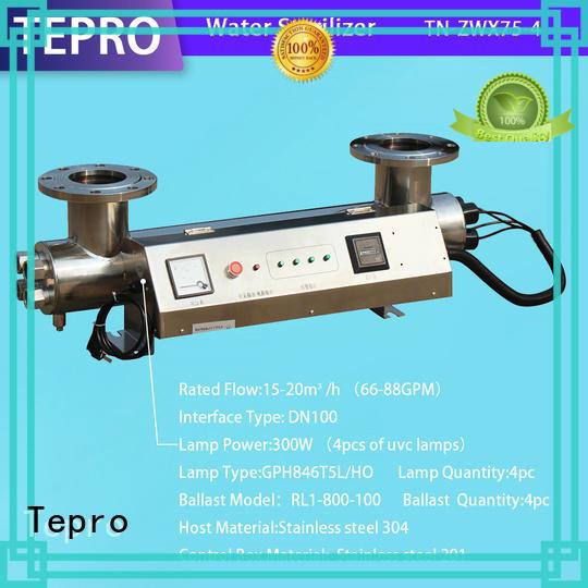 Tepro submersible portable uv lamp customized for hospital