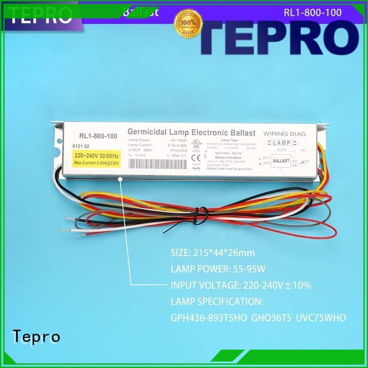 Tepro electronic ballast for uv lamp function for fish tank