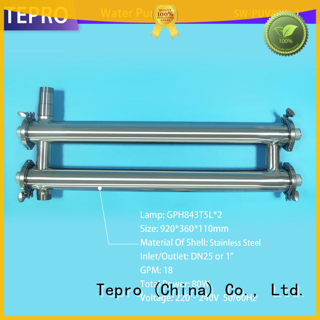 Tepro conventional ultraviolet water purification manufacturer for pools