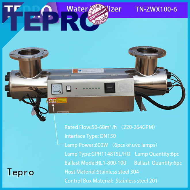 uv water filtration system factory for reptiles