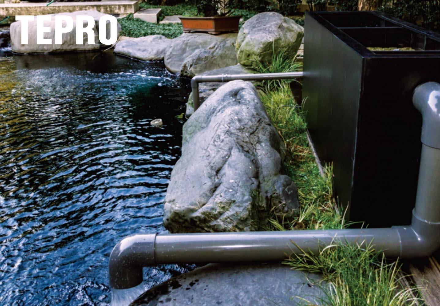 Tepro bio filter system performance for pools-1