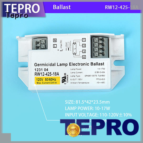 Tepro professional uv ballast factory for plants