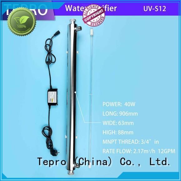 standard uv water filter system for fish tank