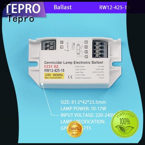 Tepro best uv ballast model for factory