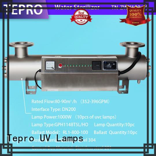 Tepro ultraviolet light water treatment types